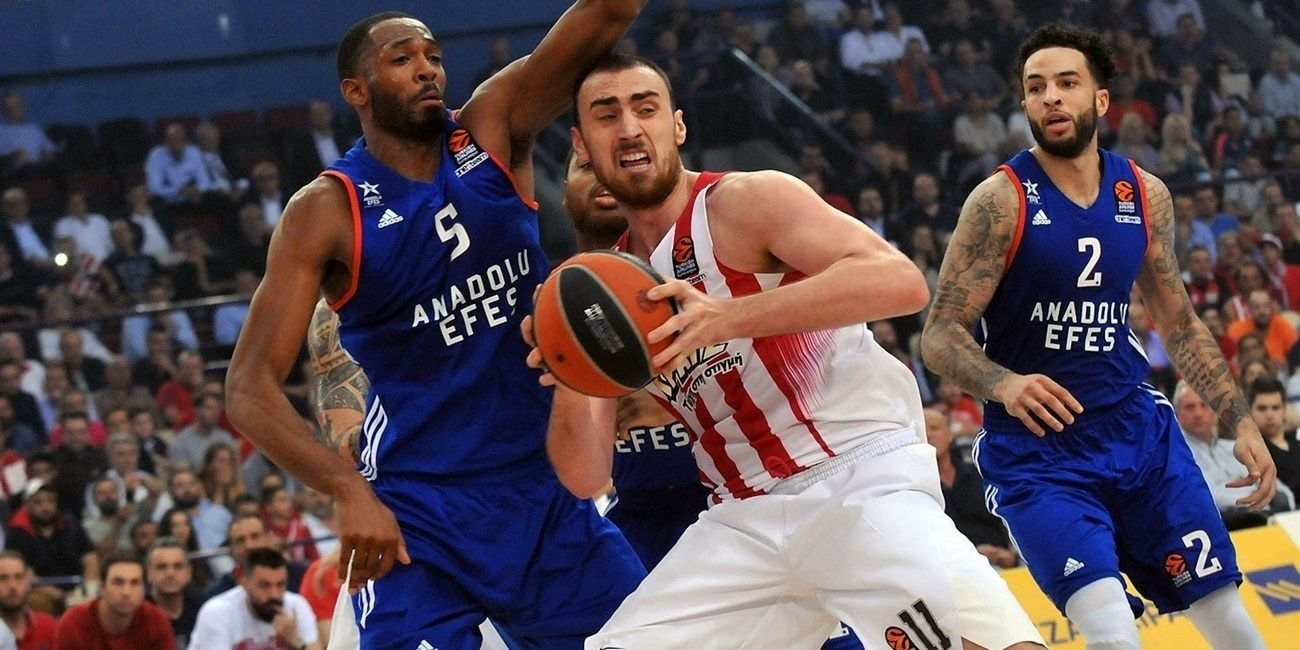 Playoffs Game 5: Olympiacos beats Efes, storms back to Final Four