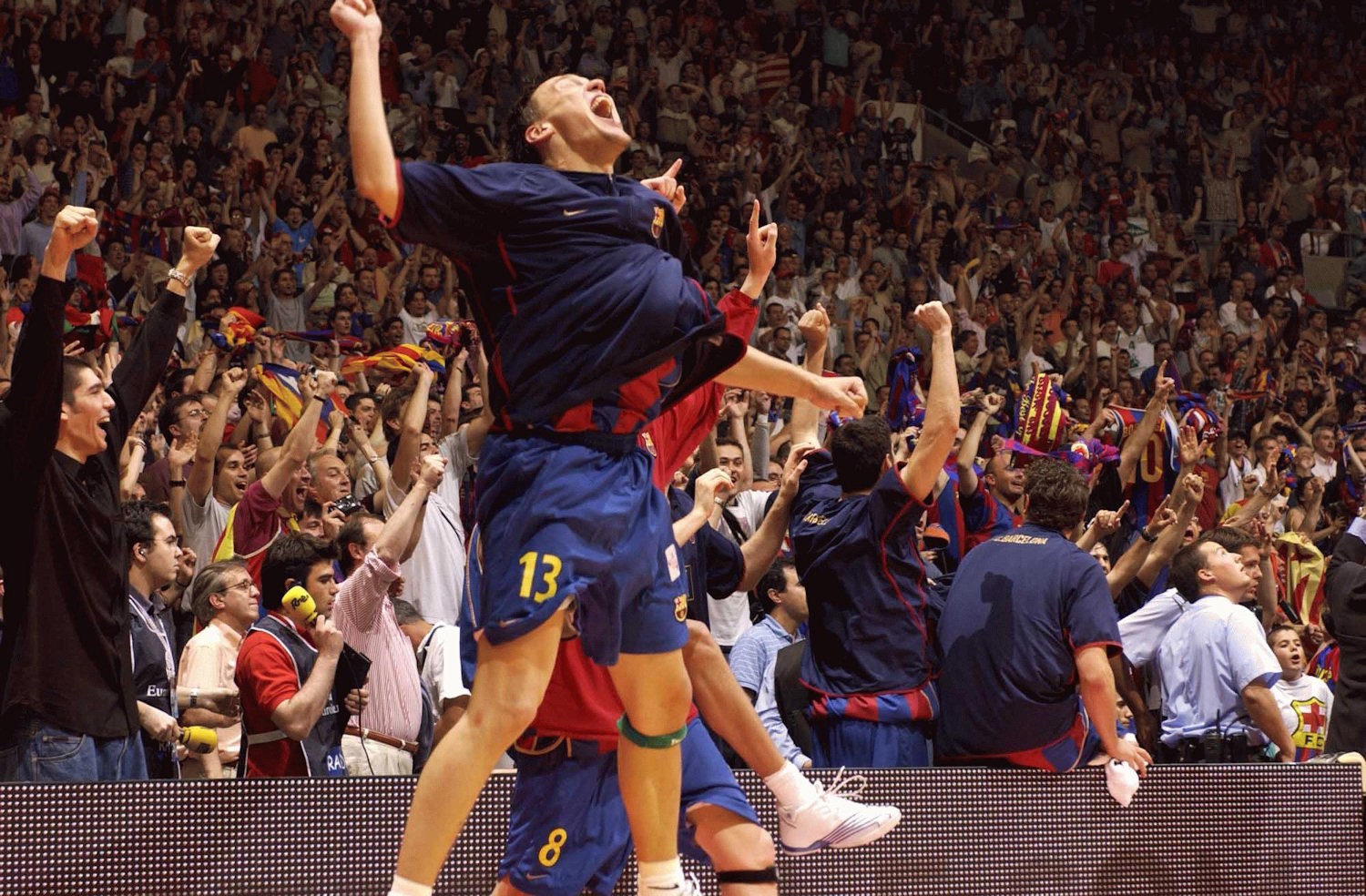 Sarunas Jasikevicius - FC Barcelona, champ Final Four 2003 - EB02