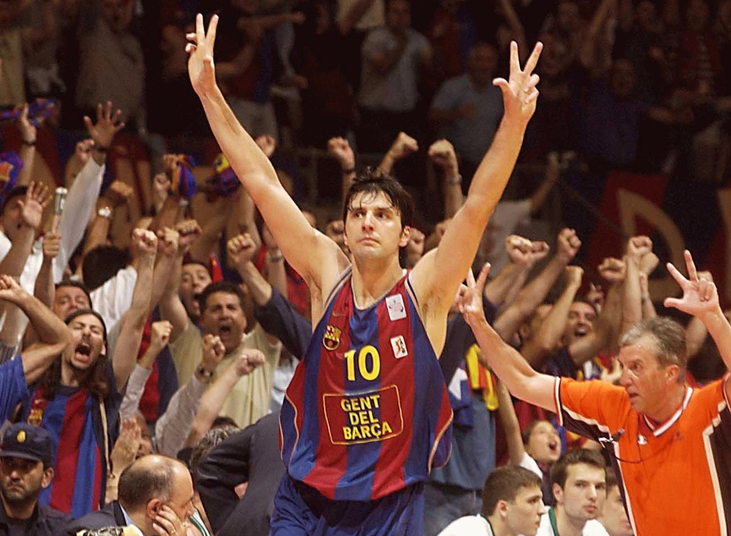 Dejan Bodiroga - FC Barcelona, champ Final Four 2003 - EB02