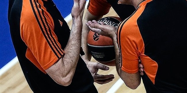 Euroleague Basketball announces 2017 Final Four referees