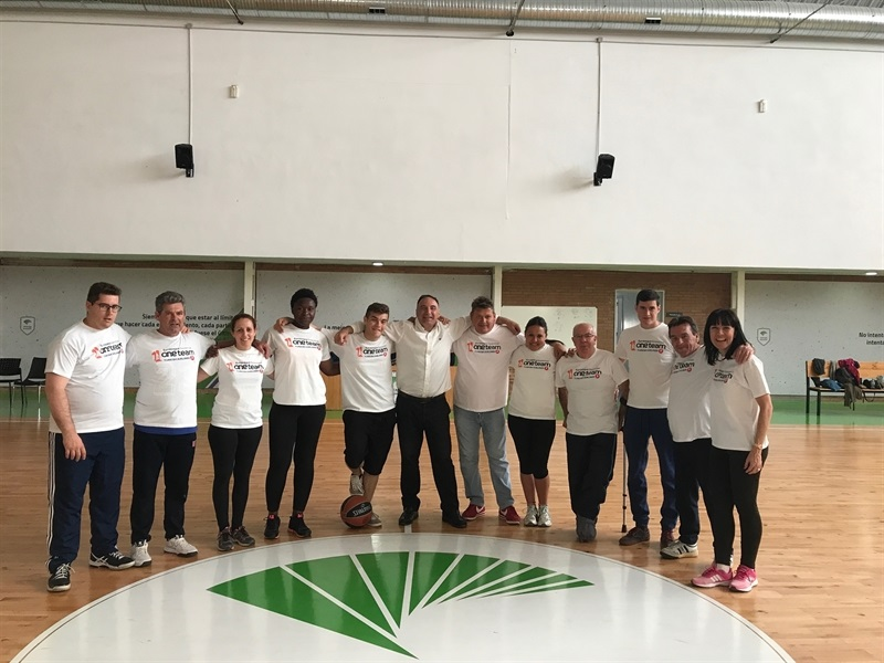 Unicaja, One Team Session