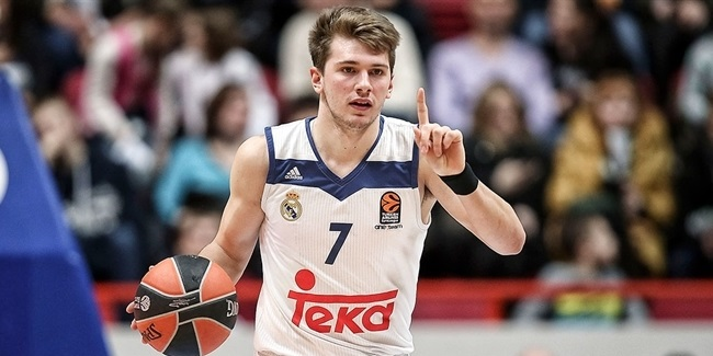 Rising Star Trophy: Madrid's Doncic is unanimous winner