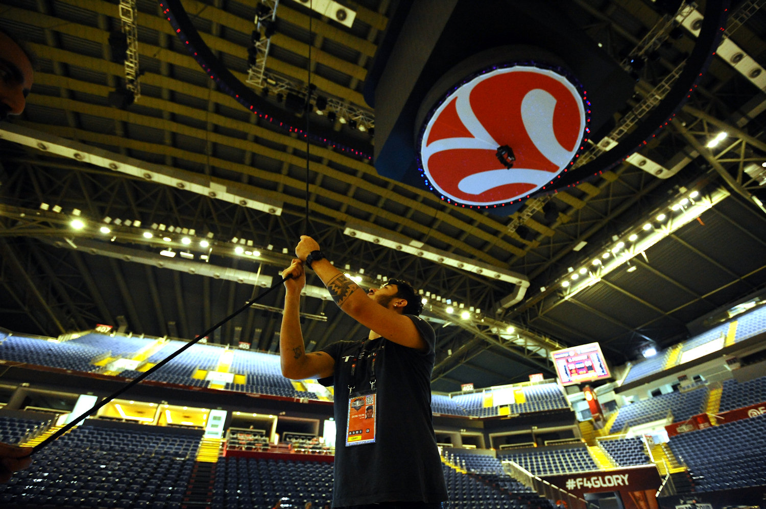 The Sinan Erdem Dome gets ready for the 2017 Final Four - Final Four Istanbul 2017 - EB16
