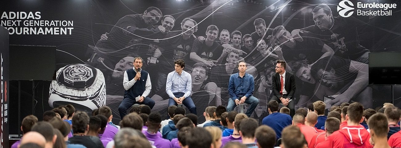 Blatt, Osman give EB ANGT players lessons about character