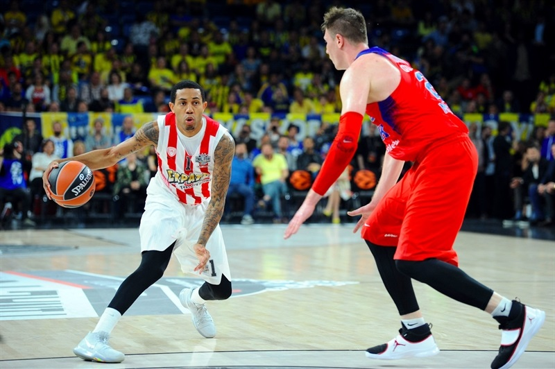 Erick Green- Olympiacos Piraeus - Final Four Istanbul 2017 - EB16