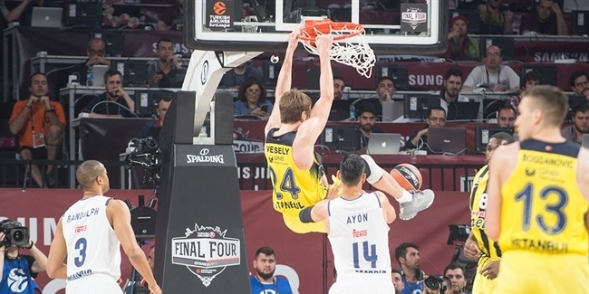 Final Four Istanbul 2017 - Semifinal, Fenerbahce Istanbul vs. Real Madrid