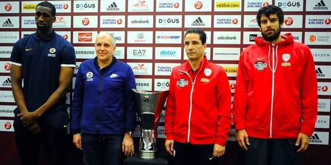 Final Four Istanbul 2017 - Championship Game Press Conference
