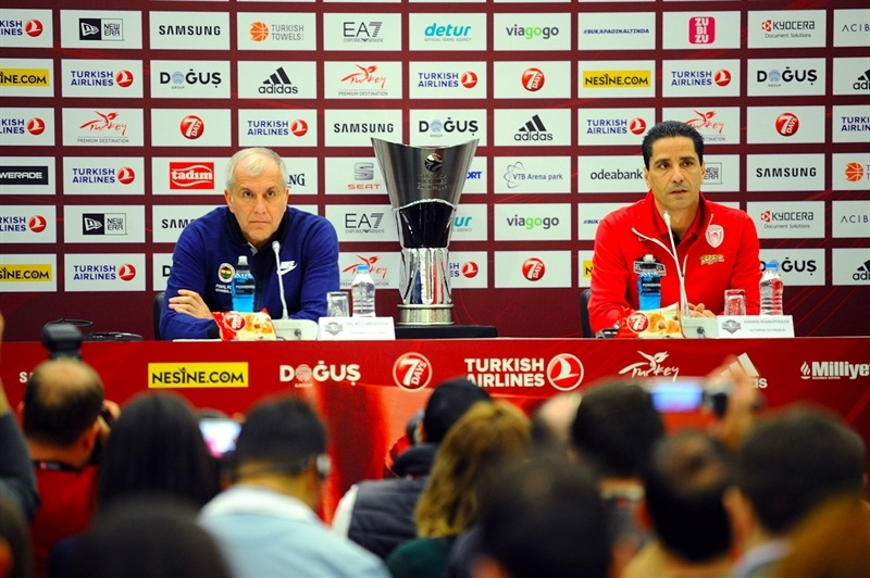Coaches - Championship Game Press Conference - Final Four Istanbul 2017 - EB16