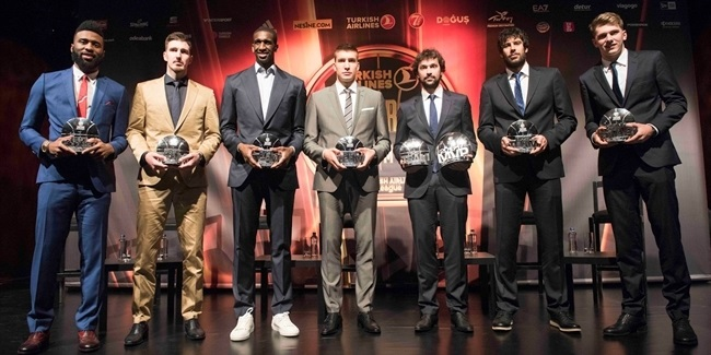 Turkish Airlines EuroLeague Awards Ceremony honors historic season's best performers!