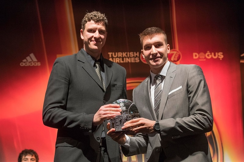 Bogdan Bogdanovic - All-EuroLeague First Team - Turkish Airlines Euroleague Awards Ceremony - Final Four Istanbul 2017 - EB16