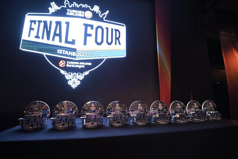Turkish Airlines Euroleague Awards Ceremony - Final Four Istanbul 2017 - EB16