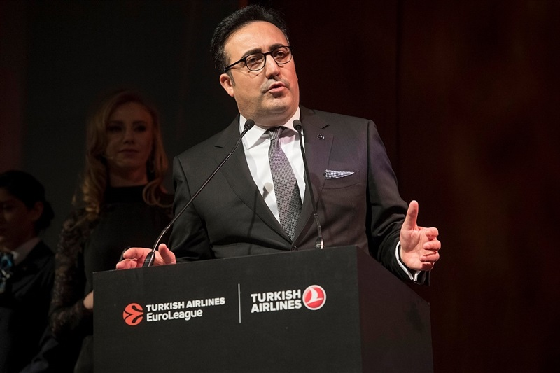 Ilker Ayci, Turkish Airlines Chairman Airlines - Turkish EuroLeague Awards Ceremony - Final Four Istanbul 2017 - EB16