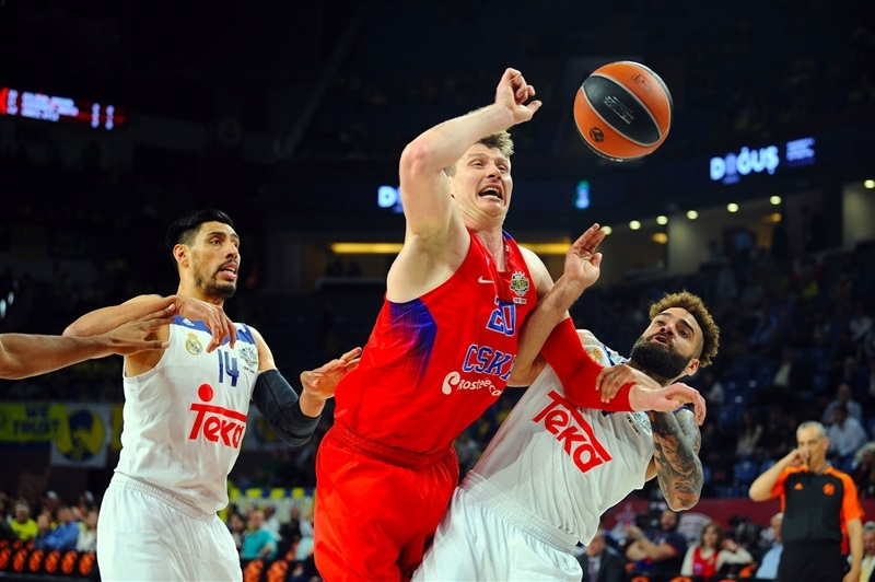 Andrey Vorontsevich - CSKA Moscow - Final Four Istanbul 2017