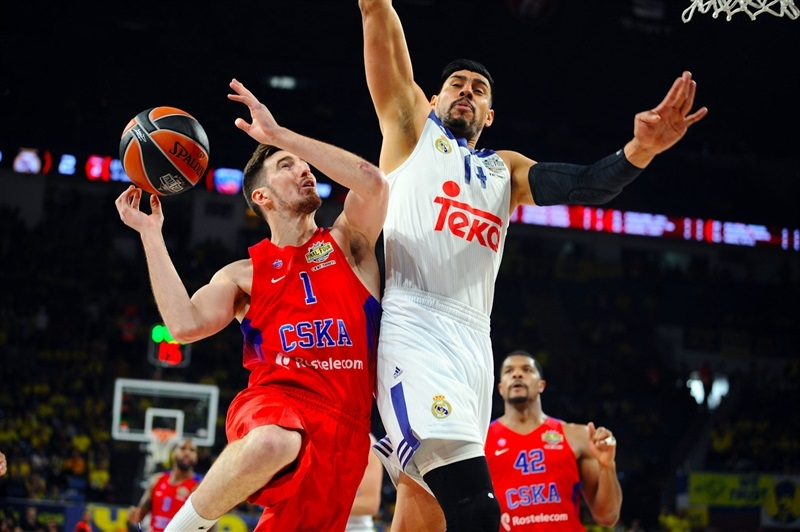 Nando De Colo of CSKA Moscow at the third place game