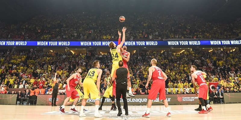 Tip-Off Championship Game: Fenerbahce Istanbul vs. Olympiacos Piraeus - Final Four Istanbul 2017