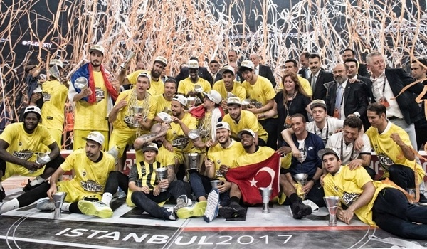 Fenerbahce Istanbul is EuroLeague champion!