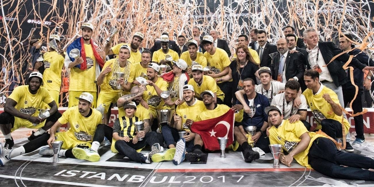 Fenerbahce Istanbul is the new champ - Final Four Istanbul 2017