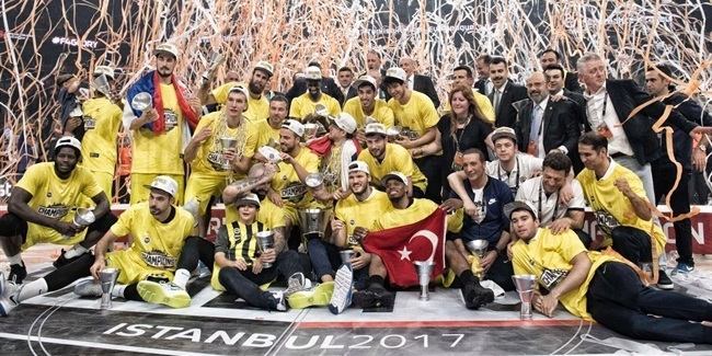 Final Four Istanbul 2017 - Fenerbahce Istanbul title celebration!