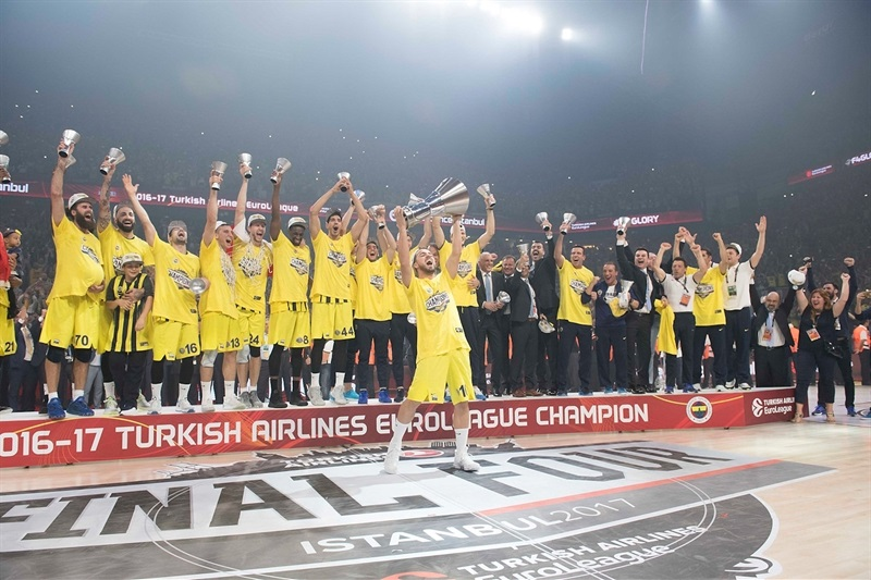 Fenerbahce Istanbul is the new Champ - Final Four Istanbul 2017 - EB16
