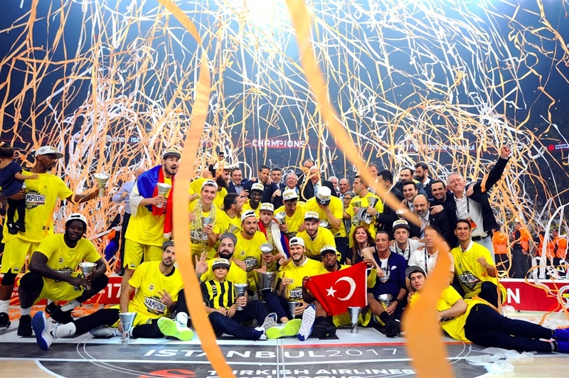 Fenerbahce Istanbul is the new Champ - Final Four Istanbul 2017 - EB16_7tsfid9gtsislirc