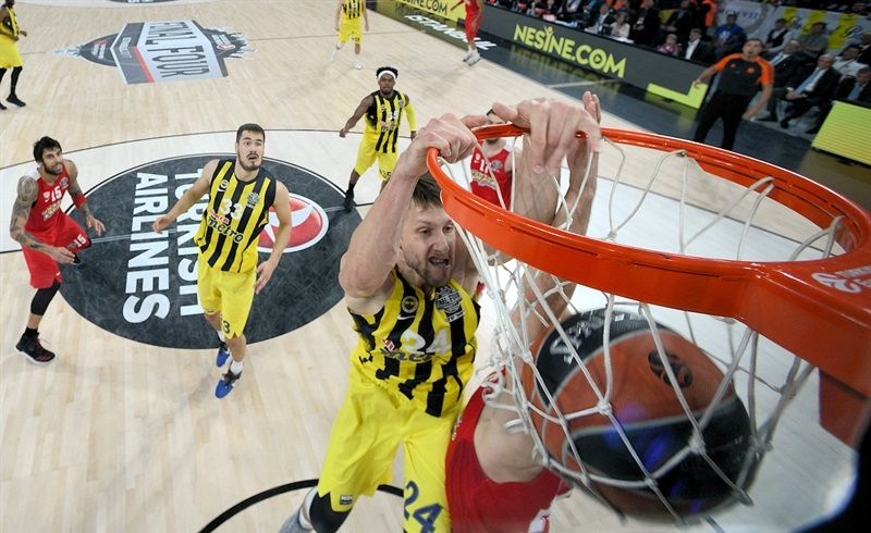 Jan Vesely - Fenerbahce Istanbul - Final Four Istanbul 2017 - EB16
