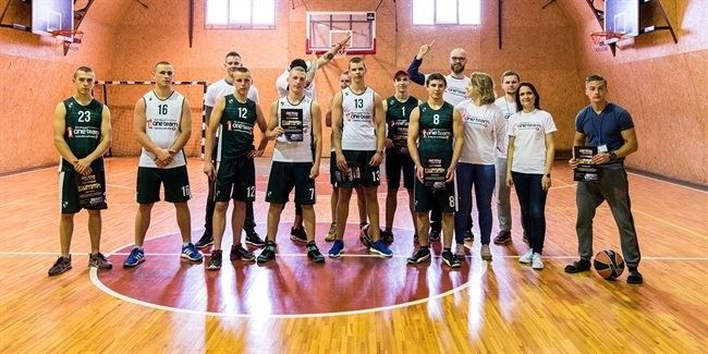 Zalgiris's One Team project changing lives in Kaunas