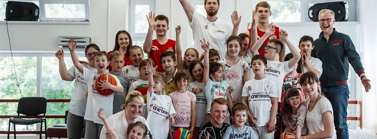 Lokomotiv combines basketball with dance in One Team project