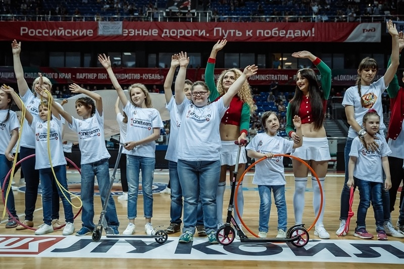Lokomotiv Kuban One Team action