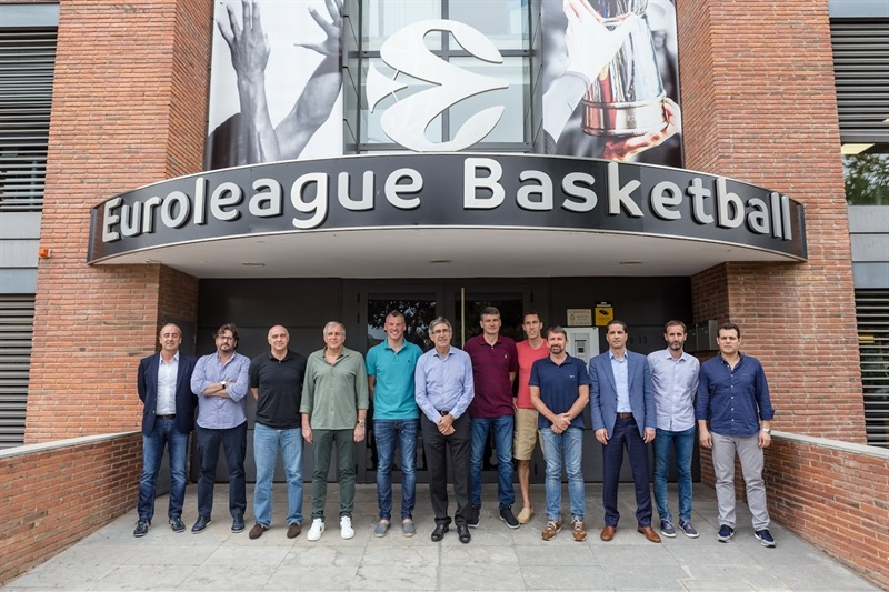 Coaches Meeting in Barcelona - EB17