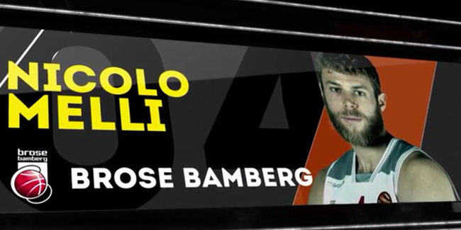 Top 5 Plays: Nicolo Melli, Brose Bamberg
