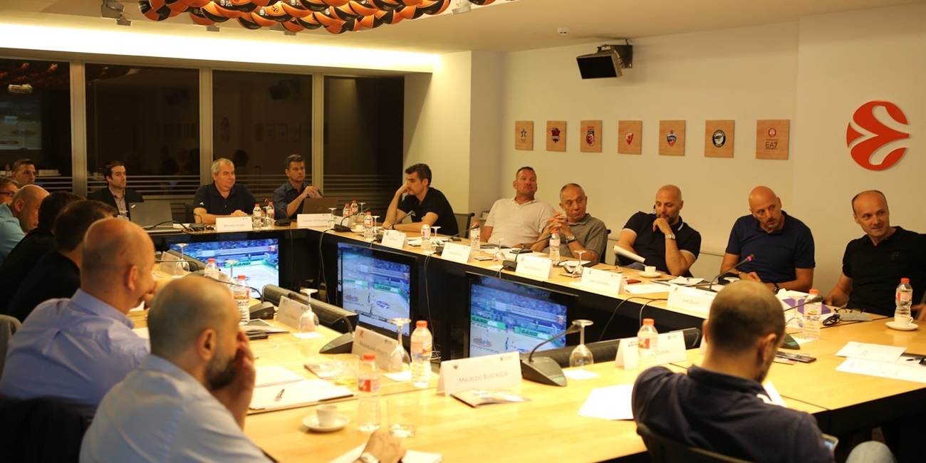 7DAYS EuroCup Head Coaches meet, contribute to officiating points of emphasis