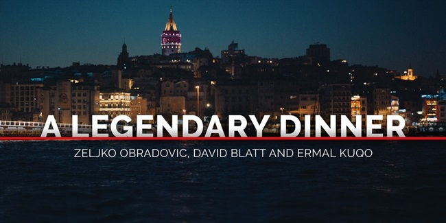 A Legendary Dinner: Zeljko Obradovic, David Blatt and Ermal Kuqo