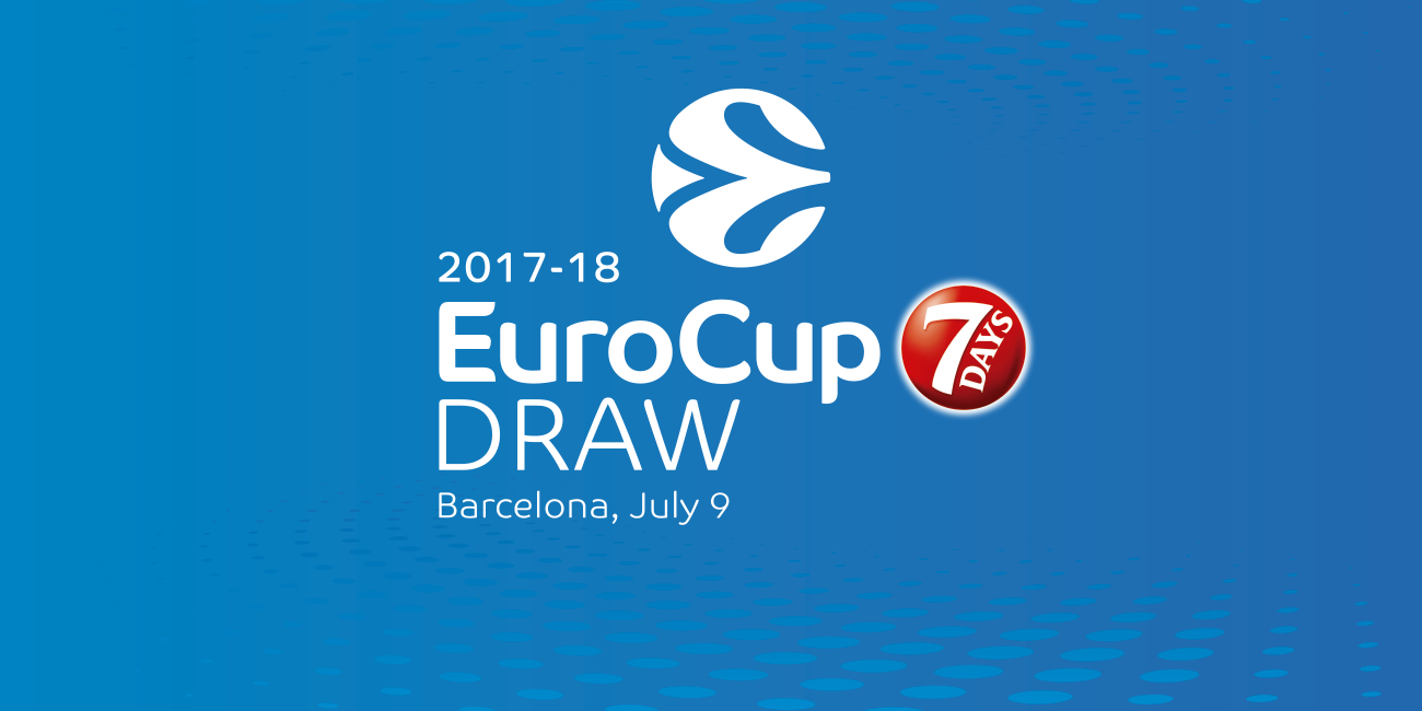 7DAYS EuroCup draw set to take place on July 6