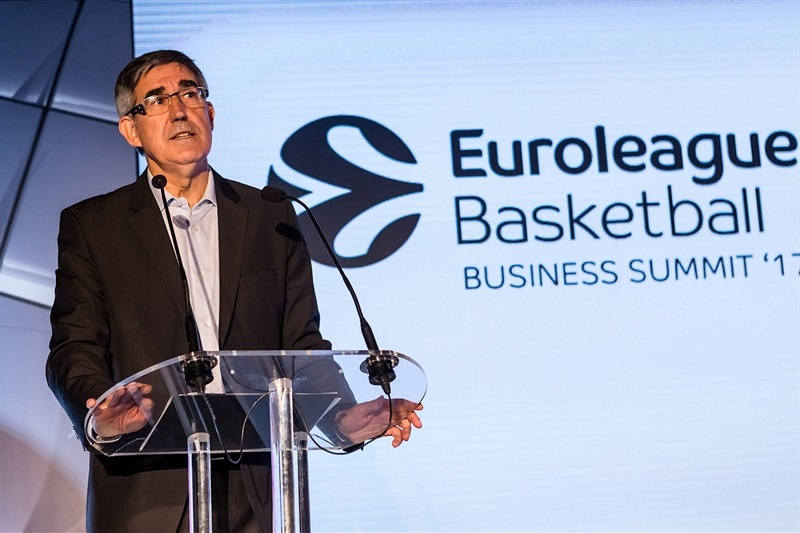 Jordi Bertomeu - Euroleague Basketball Business Summit 2017 - EB17