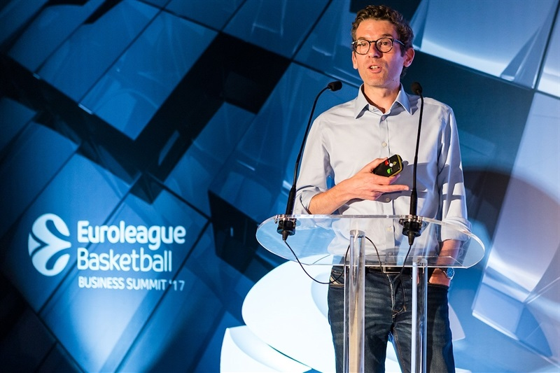 Ben Ladkin - Euroleague Basketball Business Summit 2017 - EB17