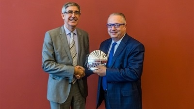 Fenerbahce's Gherardini chosen Executive of the Year
