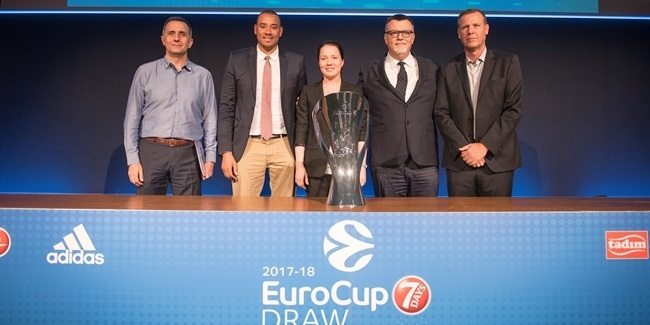 2017-18 Eurocup Draw: Group D at a glance