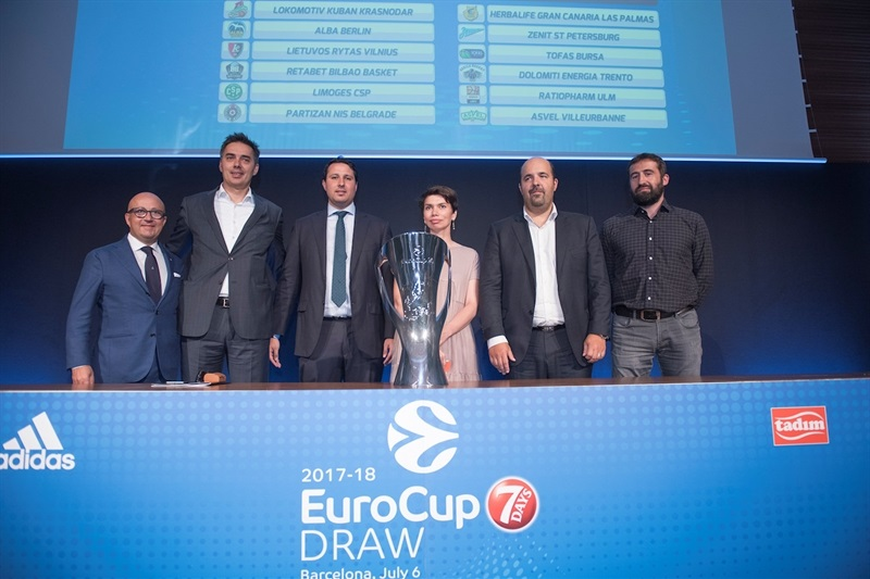 Group A - 2017-18 7DAYS EuroCup Draw - EC17