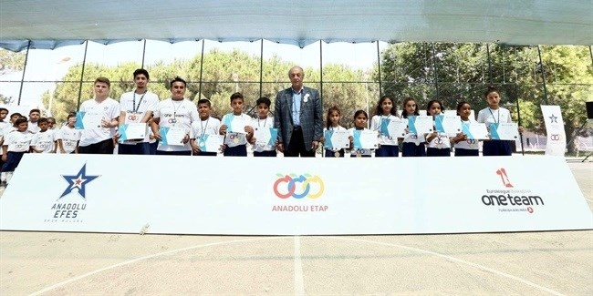 Underprivileged children bear the fruit of Efes summer project
