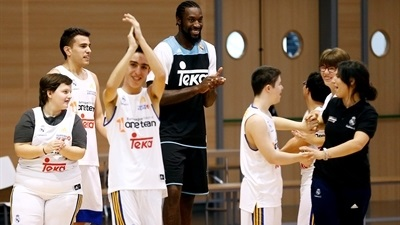 Real Madrid helping to change lives through basketball