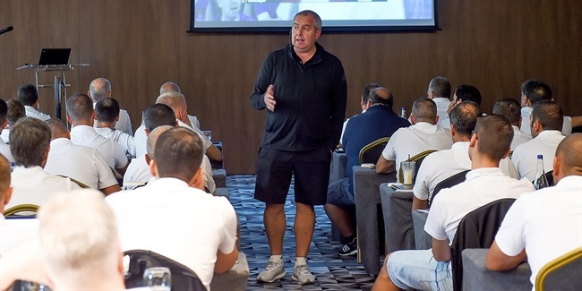 Euroleague Basketball officials prep new season at clinic in Belgrade