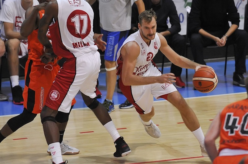 Zoran Dragic - AX Armani Exchange Olimpia Milan in preseason (photo Olimpia Milan) - EB17