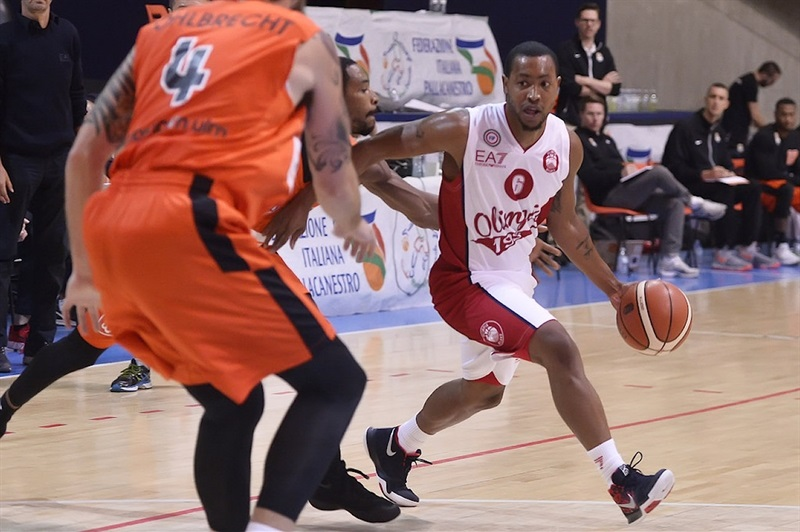 Andre Goudelock - AX Armani Exchange Olimpia Milan in preseason (photo Olimpia Milan) - EB17