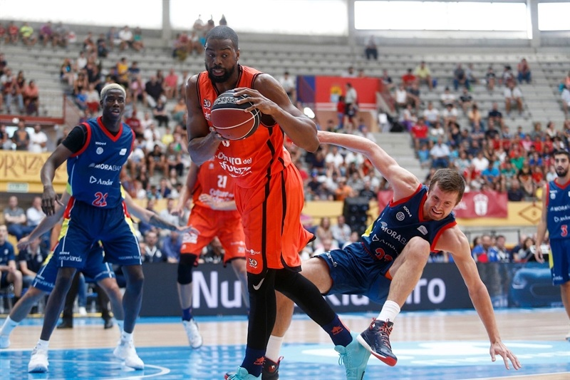 Will Thomas - Valencia Basket in preseason (photo ACB) - EB17