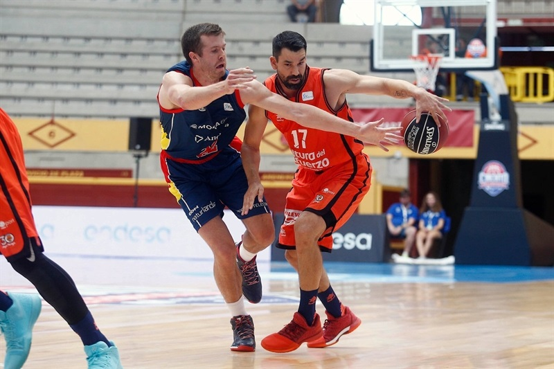 Rafa Martinez - Valencia Basket in preseason (photo ACB) - EB17