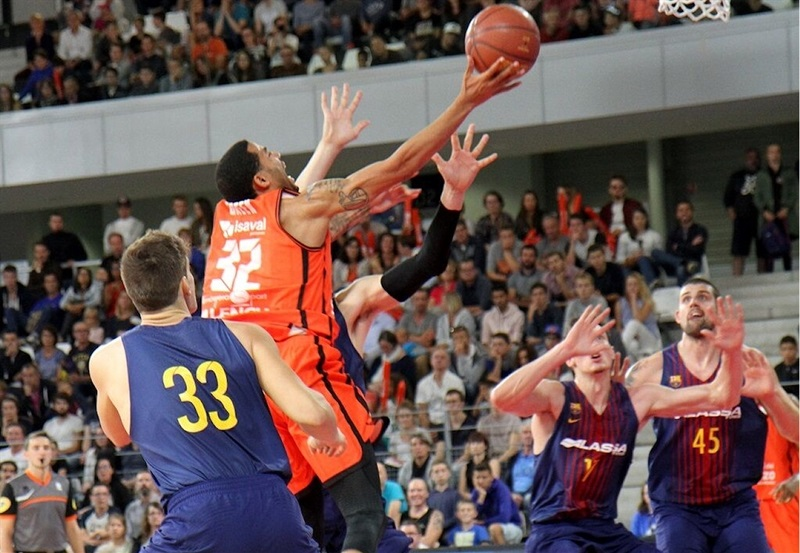 Erick Green - Valencia Basket in preseason (photo Appart City Cup) - EB17