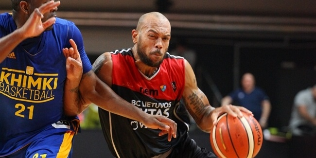 7DAYS EuroCup preseason: Rytas overpowers Khimki