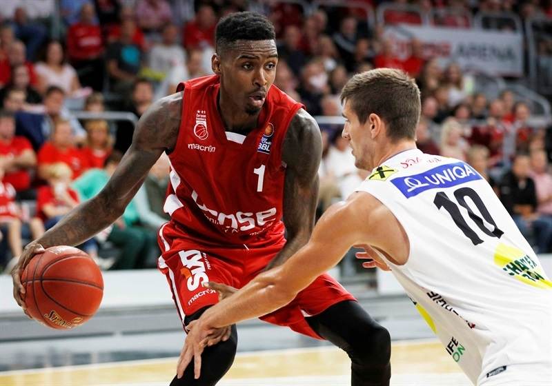 Quincy Miller - Brose Bamberg in preseason 2017-18 - EB17