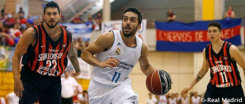 Facu Campazzo - Real Madrid in preseason 2017-18 (photo Real Madrid) - EB17