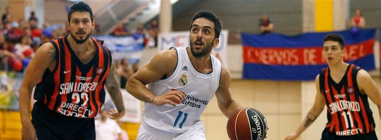Turkish Airlines EuroLeague preseason: Madrid loses against San Lorenzo